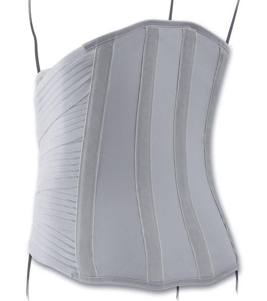 Rendering Posteriore del corsetto Lombodorsale. Uno dei prodotti disponibili sull'ecommerce di Orthocare Solution